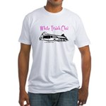 White Trash Chic Fitted T-Shirt