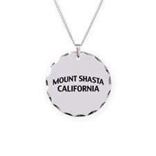 Mount Shasta California Necklace