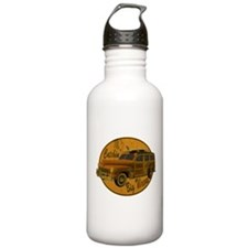 Catch a Wave Woodie Surf Wago Water Bottle