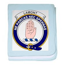 Funny Lamont baby blanket