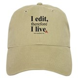 """I edit, therefore I live"" CE-Lery cap"