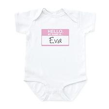 Hello, My Name is Eva - Infant Bodysuit
