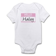 Hello, My Name is Hailey - Onesie