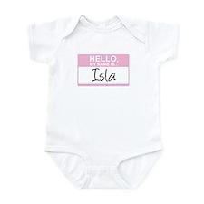 Hello, My Name is Isla - Onesie