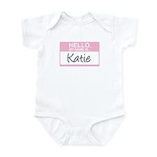 Hello, My Name is Katie - Infant Bodysuit