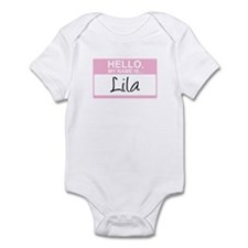 Hello, My Name is Lila - Infant Bodysuit