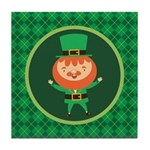 Leprechaun Irish St Paddy's Day Tile Coaster