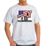 Independence Day Ash Grey T-Shirt