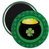Leprechaun Gold St Patrick's Day Magnet