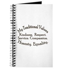 My Traditioinal Values Journal