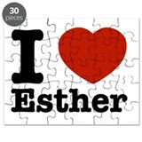 I love Esther Puzzle