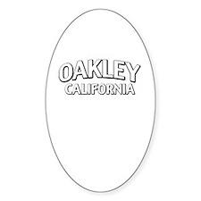 Oakley California Stickers