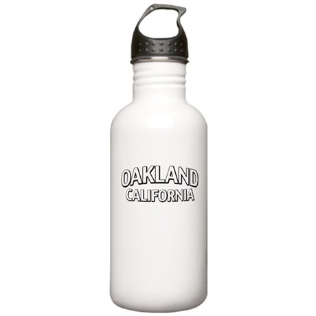 Oakland California Stainless Water Bottle 1.0L