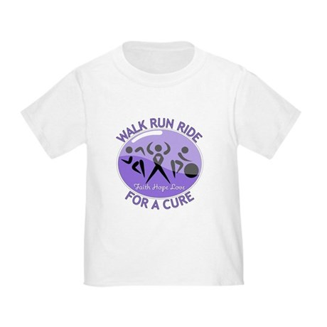 Hodgkins Lymphoma Walk Run Toddler T-Shirt