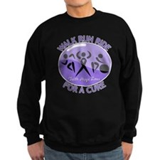 Hodgkins Lymphoma Walk Run Sweatshirt