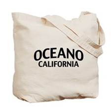 Oceano California Tote Bag
