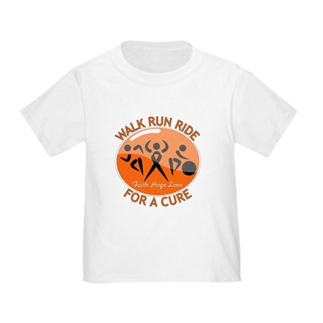 Leukemia Walk Run Ride Toddler T-Shirt