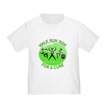 Lymphoma Walk Run Ride Toddler T-Shirt