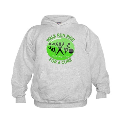 Lymphoma Walk Run Ride Kids Hoodie