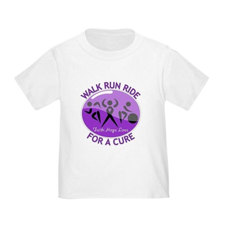Pancreatic Cancer Walk Ride Toddler T-Shirt