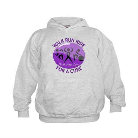 Pancreatic Cancer Walk Ride Kids Hoodie