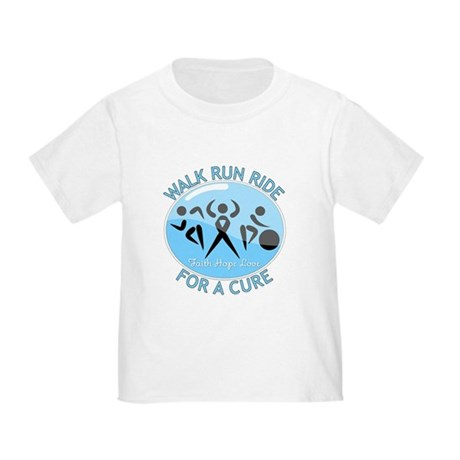 Prostate Cancer Walk Run Ride Toddler T-Shirt
