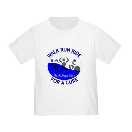 ALS Walk Run Ride Toddler T-Shirt