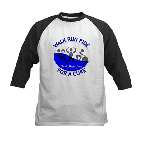 ALS Walk Run Ride Kids Baseball Jersey