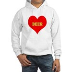 iHeart Beer Hooded Sweatshirt
