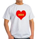 iHeart Beer Light T-Shirt