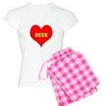 iHeart Beer Women's Light Pajamas