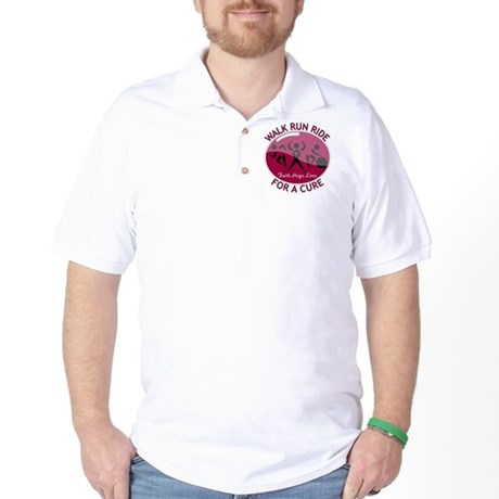 Myeloma Walk Run Ride Golf Shirt