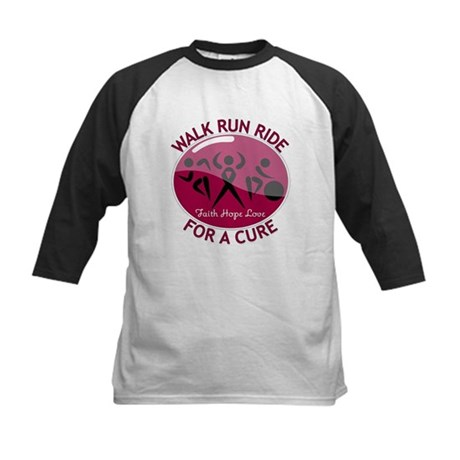 Myeloma Walk Run Ride Kids Baseball Jersey