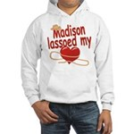 Madison Lassoed My Heart Hooded Sweatshirt