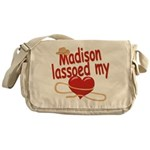 Madison Lassoed My Heart Messenger Bag