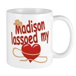 Madison Lassoed My Heart Mug