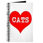 I Heart Cats Journal