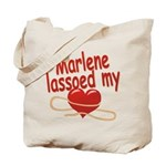 Marlene Lassoed My Heart Tote Bag