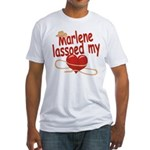 Marlene Lassoed My Heart Fitted T-Shirt