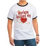 Marlene Lassoed My Heart Ringer T