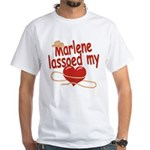 Marlene Lassoed My Heart White T-Shirt