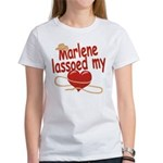Marlene Lassoed My Heart Women's T-Shirt