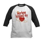 Marlene Lassoed My Heart Kids Baseball Jersey