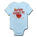 Marlene Lassoed My Heart Infant Bodysuit