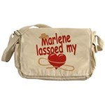 Marlene Lassoed My Heart Messenger Bag