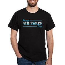 Proud Dad Black T-Shirt