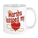 Marsha Lassoed My Heart Mug