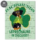 Dachshunds Are Leprechauns In Puzzle