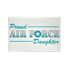Proud Daughter Rectangle Magnet (100 pack)