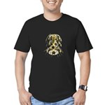 Shiny Stars in Cascade Men's Fitted T-Shirt (dark)